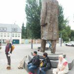 An der Karl Marx Statue